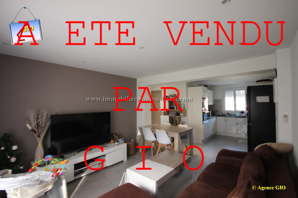 EXCLUSIVITE - TOULON OUEST - APPARTEMENT T3 DE 55 M² - RENOVE - CAVE