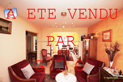 EXCLUSIVITE - LES MOULINS - APPARTEMENT T4 DE 82 M² (75 M²LC) - 2 CHAMBRES - BALCONS - ASCENSEUR - 1 PARKING PRIVE - 1 CAVE 1/10