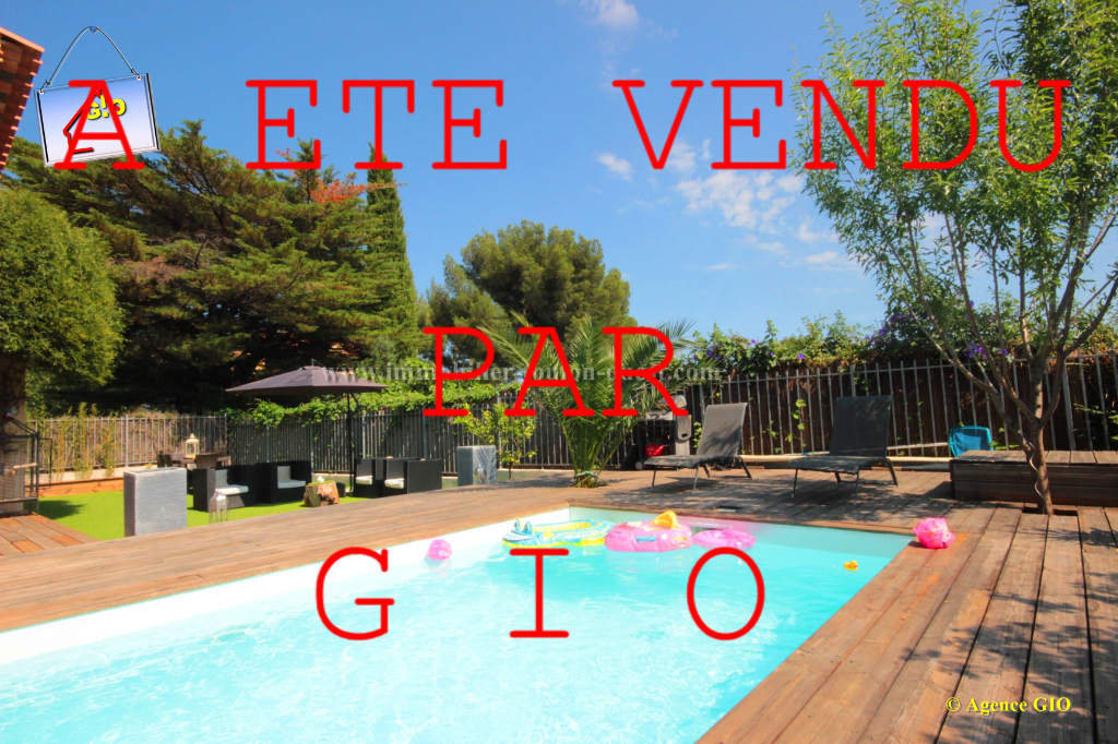 EXCLUSIVITE - LES 4 CHEMINS - VILLA CONTEMPORAINE T5 DE 160 M² - GARAGE - PISCINE - JARDIN PRIVATIF DE 430 M²