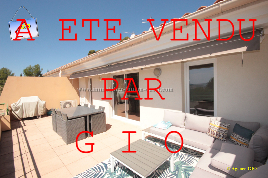 LES 4 CHEMINS - APPARTEMENT T3 DE 75 M² (55 m² loi carrez) - TERRASSE 30 M² SUD - PARKING - CAVE