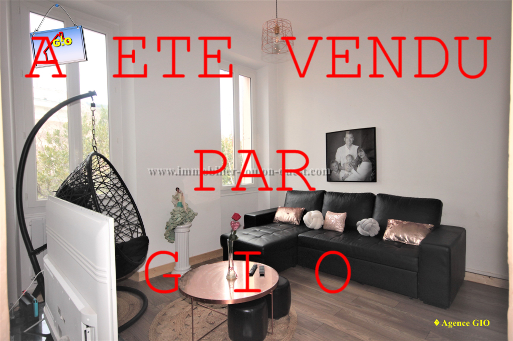 EXCLUSIVITE - TOULON SAINT JEAN -  APPARTEMENT TYPE T3 DE 58 M² - LOGGIA - CAVE