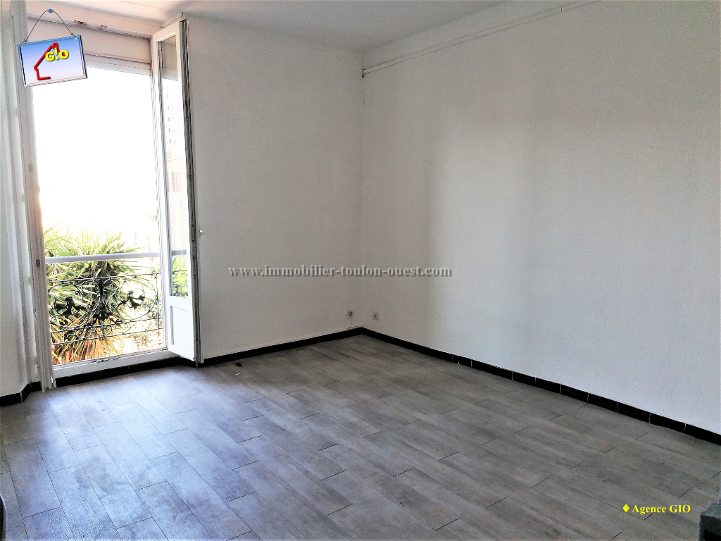 REF 2350- IMMOBILIER TOULON OUEST - AGENCE IMMOBILIERE  G.I.O. TOULON OUEST - LOCATION APPARTEMENT TYPE 2- 45 M² 6/11