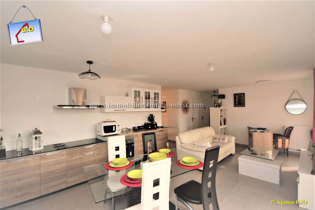 TOULON OUEST - VALBERTRAND - EXCLUSIVITE - RESIDENCE NEUVE - APPARTEMENT  T3 DE 61 M² - 1 CHAMBRE - TERRASSE SUD - PARKING PRIVE 5/6