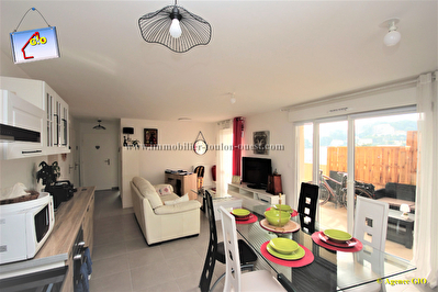 TOULON OUEST - VALBERTRAND - EXCLUSIVITE - RESIDENCE NEUVE - APPARTEMENT  T3 DE 61 M² - 1 CHAMBRE - TERRASSE SUD - PARKING PRIVE 6/6